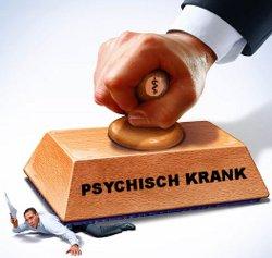 Psychische Pathologisierung