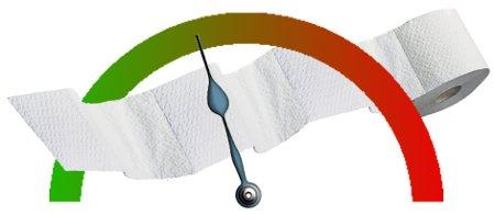 Klopapierblattometer