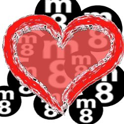 Herz statt m8